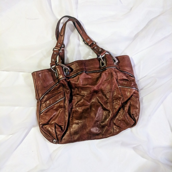 b. makowsky Bags   B Makowsky Brown Leather Bag   Poshmark 610096e844